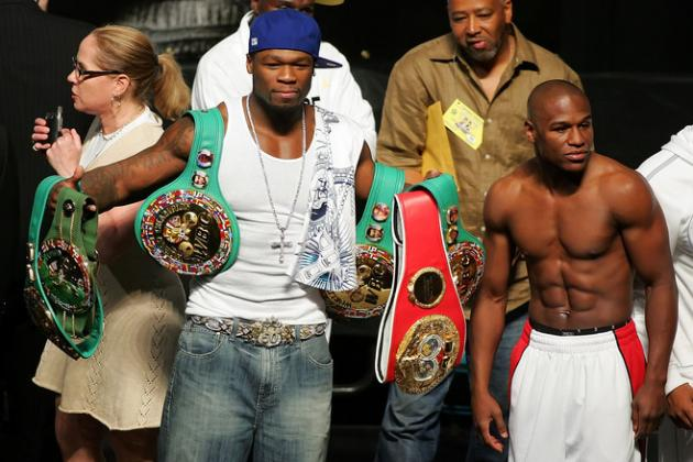 Mayweather vs. Pacquiao: Could 50 Cent Get the Fight Signed?