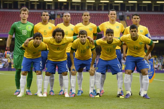 Olympics 2012: Brazil Don't Need Any Dark Knights; They Have Plenty of Marvels
