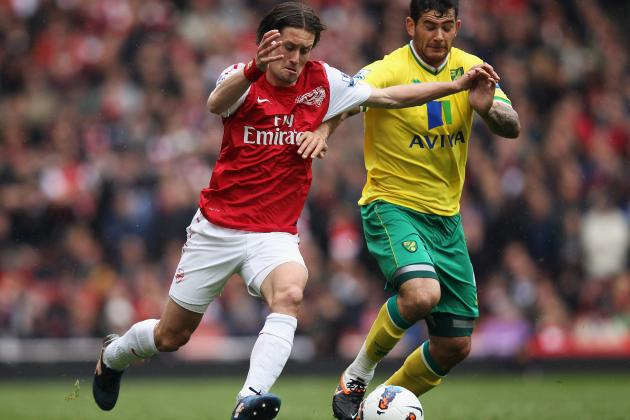 Tomas Rosicky: Arsenal Midfielder Is Likely to Miss Start of EPL Season
