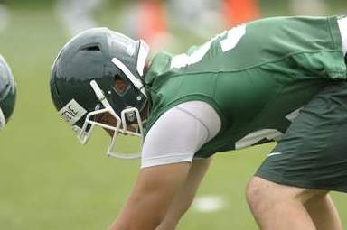 MSU's Dantonio Thankful for News That Injured Steve Moore Will Be OK