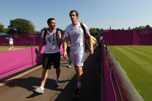 Roger Federer, Novak Djokovic, Andy Murray and Bizarre 2012 Wimbledon-Olympics