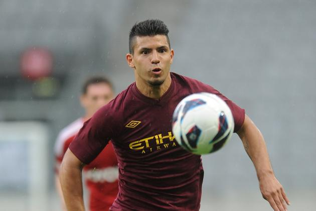 Predicting Manchester City's Starting XI for 2012/13