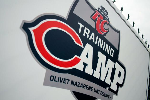 Bears Training Camp: Notes from Day 1