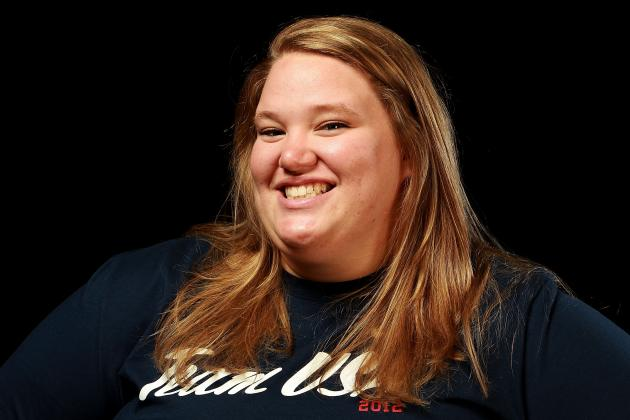 2012 Olympics: Holley Mangold, Sister of NFL Center, Making Name for Herself