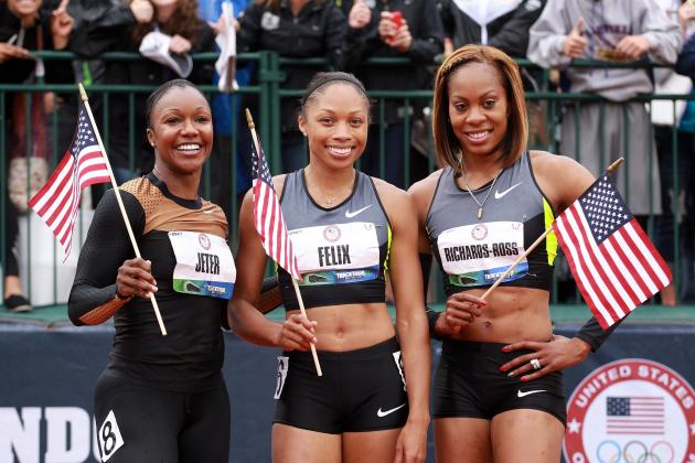 2012 Olympics: Analyzing Medal Chances for Aaron Ross' Wife, Sanya Richards-Ross