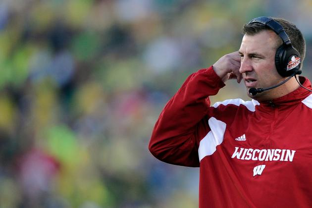 Bret Bielema, the History Teacher, Talks Weddings and the Selection Committee
