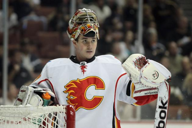 Flames Sign Backup Goale Irving to One-Year Deal