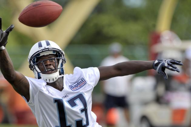 AFC South Friday Tweetbag: Where Is Kendall Wright?