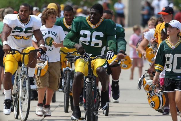 What We Have Learned so Far from Green Bay Packers Camp