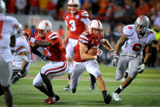 Big Ten Media Days: Rex Burkhead Stays Focused on Improvement, Big Ten Title