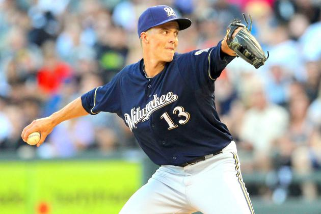 Zack Greinke Trade: Grades, Analysis and Twitter Reaction