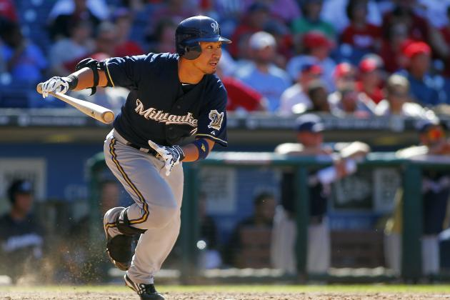 Will Nori Aoki Become the Milwaukee Brewers' Next Rookie of the Year Finalist?