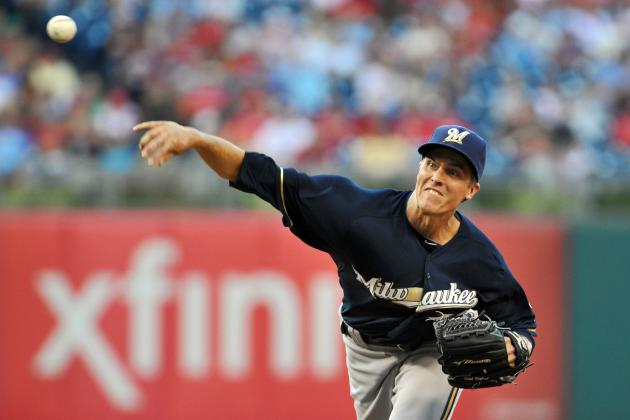 Zack Greinke: Star Pitcher's Time with Brewers Was Short but Sweet