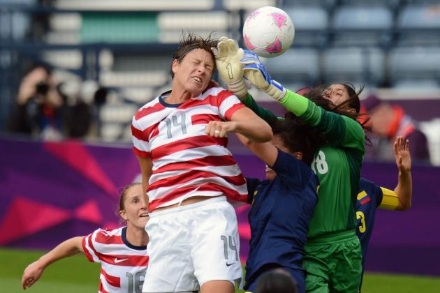 USA vs. Colombia Women's Olympic Soccer: Grades, Twitter Reaction and Analysis