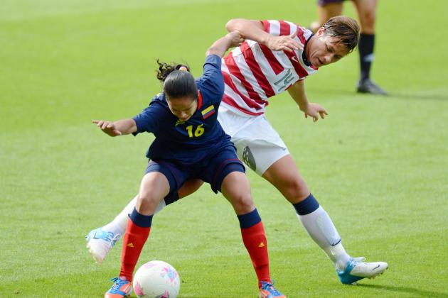 Olympic Soccer 2012: Colombian Player Punches Abby Wambach