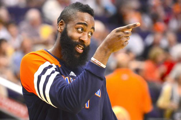 NBA Rumors: James Harden 'Open' to Playing for the Phoenix Suns