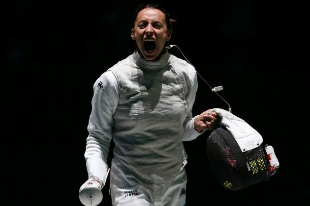 Elisa Di Francisca Will Ride Upset Fencing Gold to Stardom