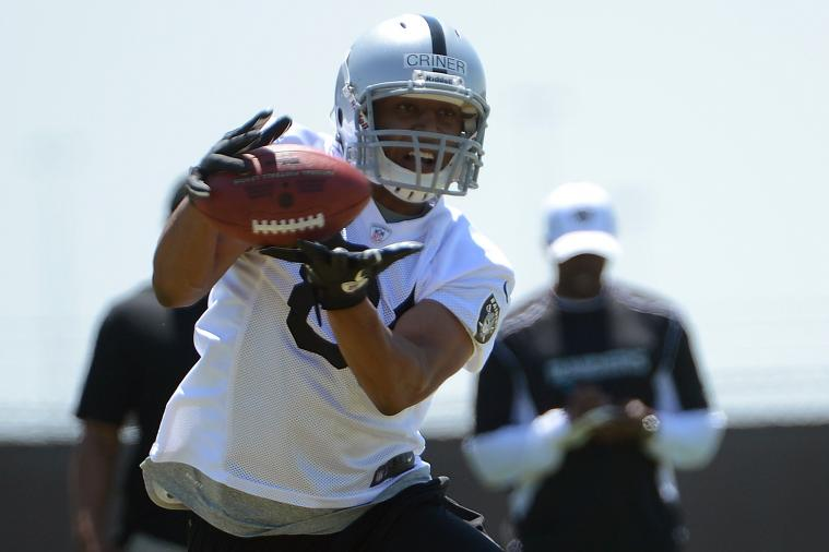 Oakland Raiders WR Juron Criner to Holdout for $14,000