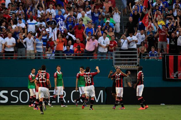 Emanuelson Rebound Helps AC Milan Take Down Chelsea in Preseason Friendly