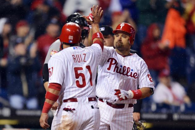 Philadelphia Phillies: Will Injuries to Ruiz and Polanco Ruin Run at Postseason?