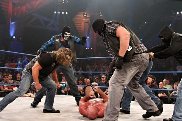 TNA Wrestling: Which Star Should Be Behind the Aces and Eights Group?
