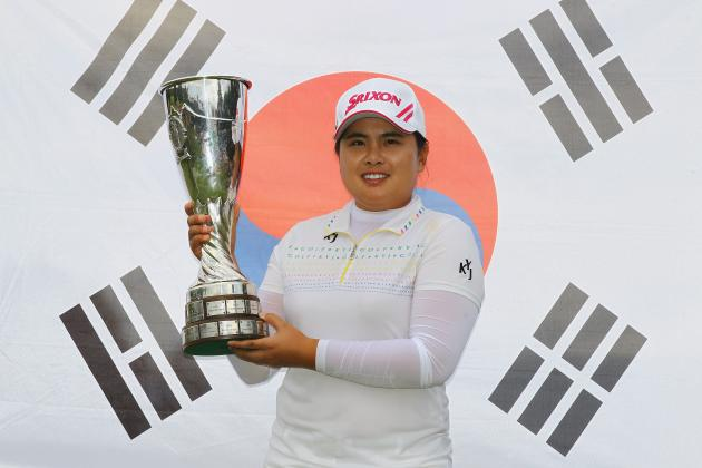 LPGA Evian Masters: Inbee Park Holds Off Stacy Lewis and Karrie Webb for Win
