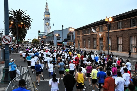 San Francisco Marathon 2012: Comparing the Race to Other Big City Marathons