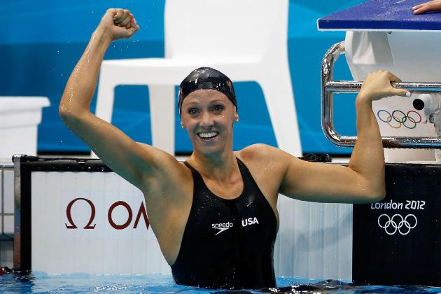 Dana Vollmer World Record: US Swimmer Wins Gold in 100m Butterfly