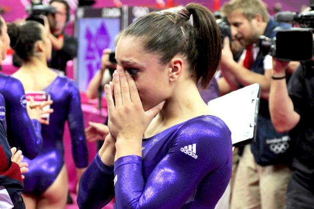 US Gymnast Jordyn Wieber's Stunning Letdown in London Olympics