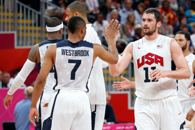 USA Olympic Basketball Team 2012: Kevin Love's Emergence Critical to Gold Medal