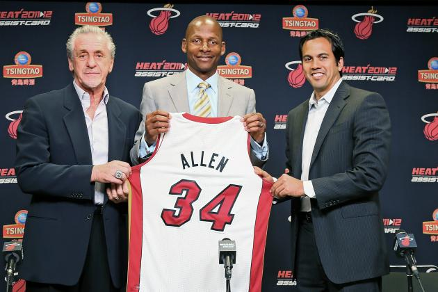 Assessing Ray Allen's Legacy as a Member of the Boston Celtics