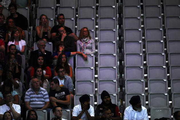 Outrage Over Empty Seats at Olympic Venues