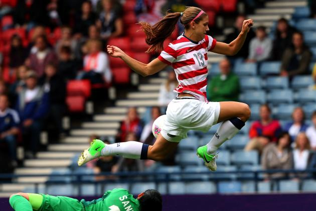Why Alex Morgan Can Be the Lionel Messi of Women's Soccer
