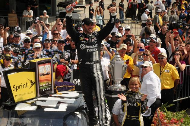 Jimmie Johnson Wins Brickyard 400 in Indy; Is a Sixth Sprint Cup Title Next?