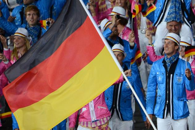Germany Without a Medal Through Two Days in London