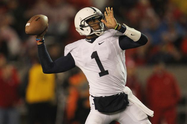 LSU Football: Penn State QB Rob Bolden Would Be a Good Addition to the Tigers