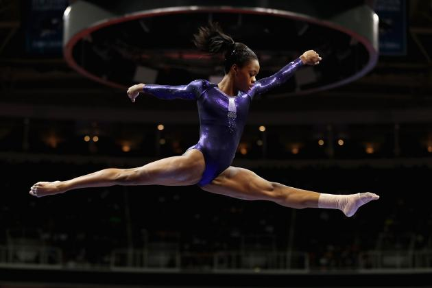 Gabby Douglas: A Star Will Be Born in Women's Gymnastics All-Around Final