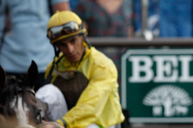 Jockey Velazquez Back in the Saddle Again