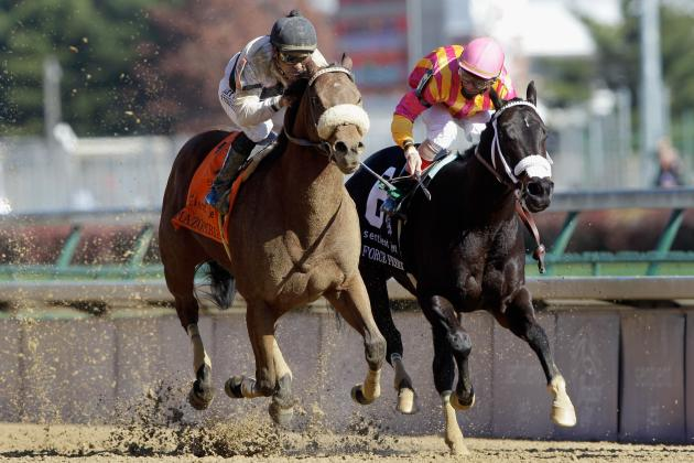 Amazombie Rallies in Stretch to Win Bing Crosby