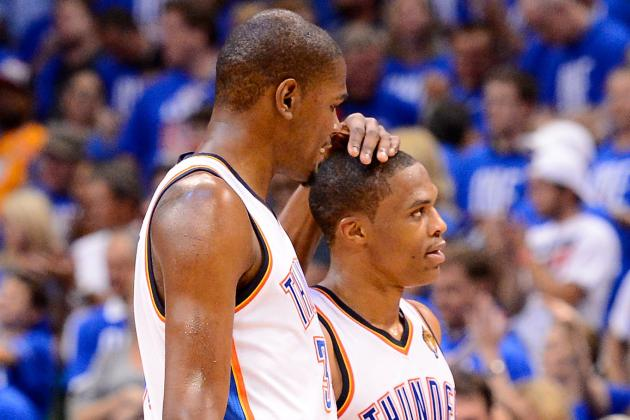 How Kevin Durant and Russell Westbrook Will Benefit from Team USA Games