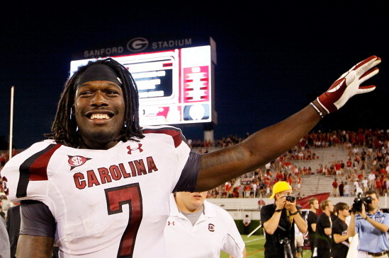 2012 Hendricks Award: South Carolina and LSU Players Headline SEC Favorites