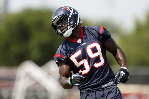 Houston Texans Training Camp Headlines: Schaub Is Healthy, Johnson Isn't