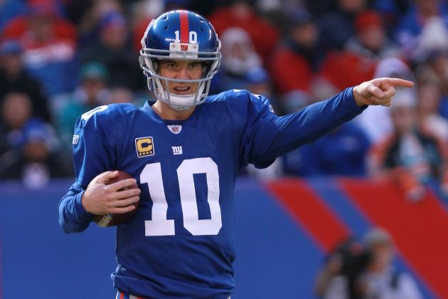 New York Giants: 1 Advantage over Every Division Foe in 2012
