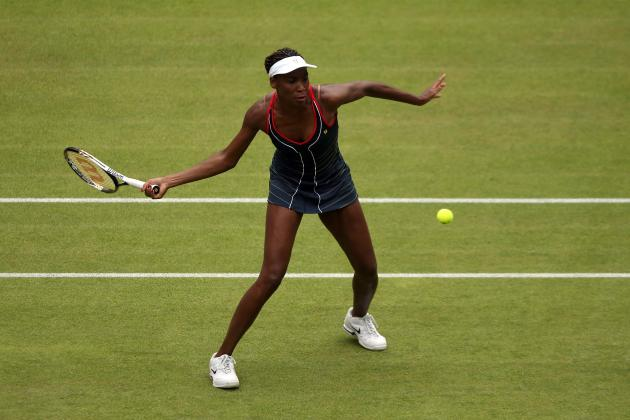 Olympic Tennis 2012: Venus Williams Ousts Aleksandra Wozniak to Reach Round 3