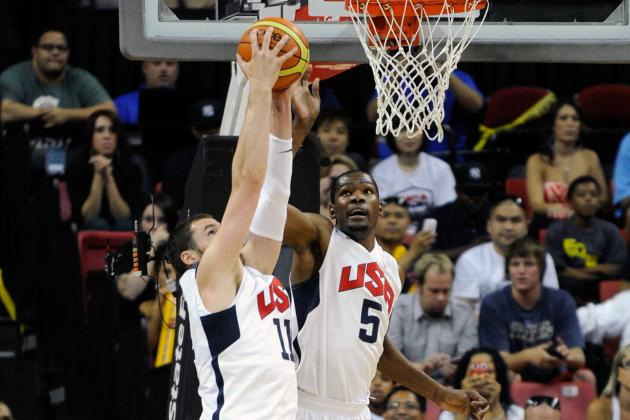 Olympics Basketball 2012: Kevin Durant, Kevin Love Move Away from Deferring