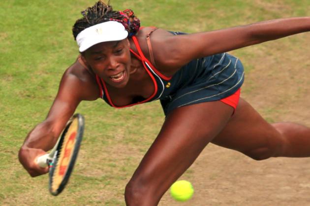 Olympic Tennis 2012: Venus Williams Ousts Aleksandra Wozniak to Reach Round 3