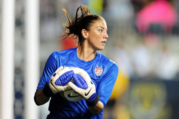 Hope Solo and Top Olympic Athletes to Follow Through Social Media