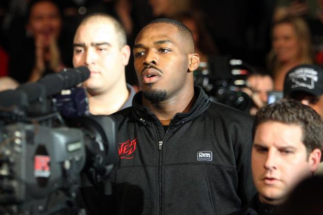 Jon Jones Sentenced on DWI Charge from May Accident
