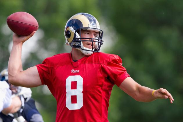 St. Louis Rams: Tuesday's News and Notes at Noon (Training Camp)