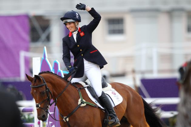 Zara Adds to Family Silver with Olympic Medal